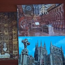 Postales: POSTALES DE LA CATEDRAL DE BURGOS ( AÑOS 1970 ). Lote 37983039
