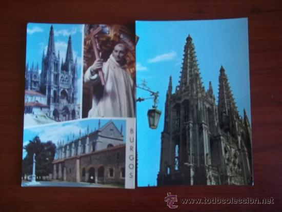 POSTALES DE BURGOS ( AÑOS 1970 ) CATEDRAL - SAN BRUNO Y CARTUJA DE MIRAFLORES (Postales - España - Sin Clasificar Moderna (desde 1.940))