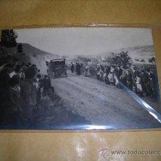 Postales: ANTIGUA POSTAL FOTOGRAFICA , LLEGADA DEL OMNIBUS - AÑOS 20 - 14X9 CM. . Lote 38874879