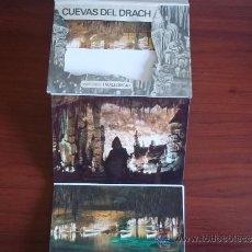 Postales: POSTALES DE LAS CUEVAS DEL DRACH - PORTO CRISTO ( MALLORCA ) AÑOS 1990. Lote 38890413