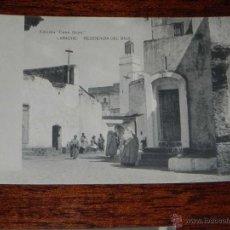 Postales: ANTIGUA POSTAL - PROTECTORADO ESPAÑOL EN MARRUECOS - LARACHE - RESIDENCIA DEL BAJA - EDICION CASA GO. Lote 39591841