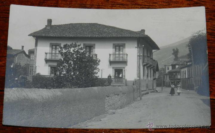 ANTIGUA FOTO POSTAL DE UNA LOCALIDAD AL PARECER EN GALICIA, LUGAR NO LOCALIZADO, GUILLEMINOT, ESCRI (Postales - España - Sin Clasificar Moderna (desde 1.940))