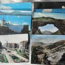 Postales: LOTE DE 11 POSTALES PANORÁMICAS DE CIUDADES Y PUEBLOS ESPAÑOLES Y DE ANDORRA AÑOS 60-70.. Lote 40899030