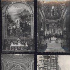 Postales: MADRID. 4 POSTALES DIFERENTES, BLANCO Y NEGRO. ANOTADAS AL REVERSO. C. 1960. Lote 41070821