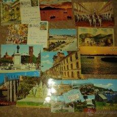 Postales: LOTE 17 POSTALES DE DISTINTAS CIUDADES DE ESPAÑA. ALGUNA CIRCULADA. AÑOS 80. Lote 41073942