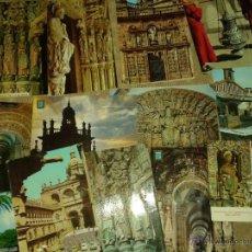 Postales: 15 POSTALES DE SANTIAGO DE COMPOSTELA. AÑOS 70-80. Lote 41074964