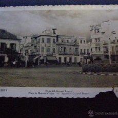 Postales: ANTIGUA POSTAL - LA LINEA - PLAZA DEL GENERLISIMO - CADIZ - ESCRITA. Lote 41203779