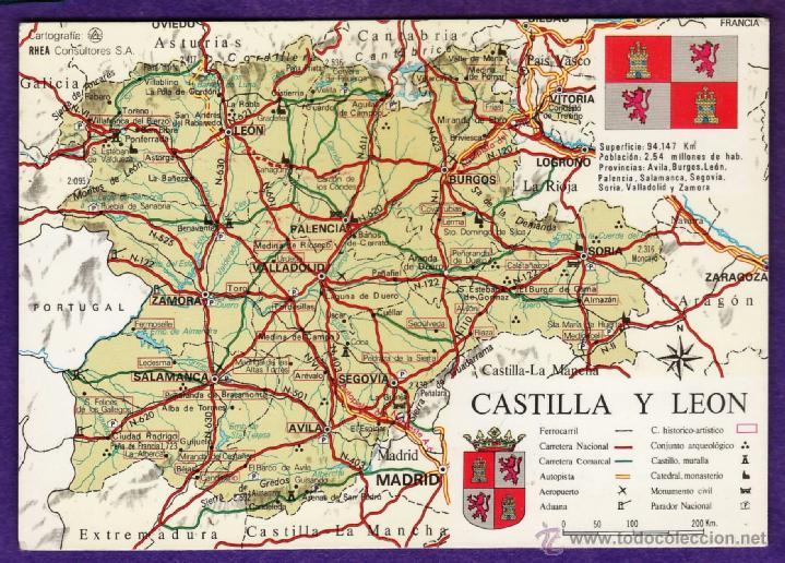 Junta de castilla y leon mapa escudo y bande comprar for Oficina turismo castilla y leon