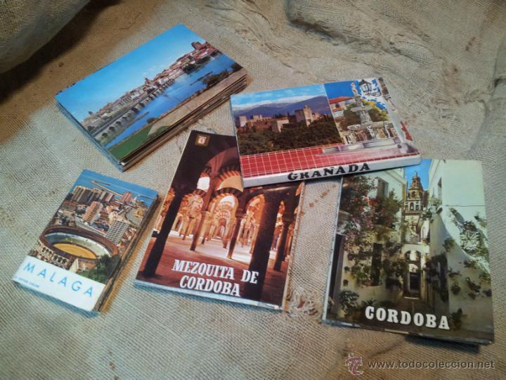 Postales: lote postales librillos acordeon .GRANADA .MALAGA, CORDOBA - Foto 2 - 41802250