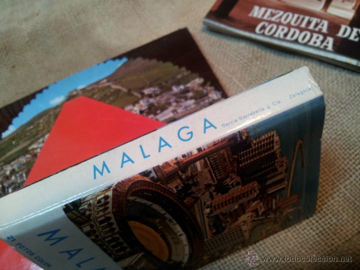 Postales: lote postales librillos acordeon .GRANADA .MALAGA, CORDOBA - Foto 4 - 41802250