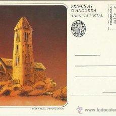 Postales: TARJETA POSTAL. ESPAÑA. PRINCIPADO DE ANDORRA. SAN MIGUEL DE ENGOLASTERS.. Lote 42047722
