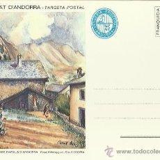 Postales: TARJETA POSTAL. ESPAÑA. PRINCIPADO DE ANDORRA. SANTA COLOMA. CASA RIBERAYGUA.. Lote 42047808