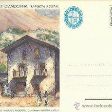 Postales: TARJETA POSTAL. ESPAÑA. PRINCIPADO DE ANDORRA. CASA BASTE- ANDORRA LA VELLA.. Lote 42047828