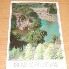 Postales: POSTAL ISLAS CANARIAS. EL LAGO ENCANTADO. AÑO 1988. ESCRITA. Lote 42049926