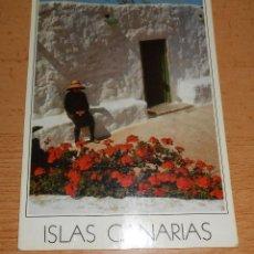 Postales: POSTAL ISLAS CANARIAS. AÑO 1986 ESCRITA. Lote 42050169