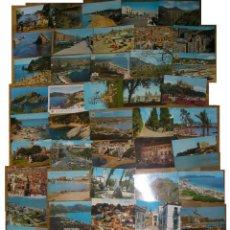 Postales: 2.000 POSTALES DIFERENTES ESPAÑOLAS DE VISTAS, PAISAJES, PUEBLOS,COLECCION.LOTE. Lote 139146241