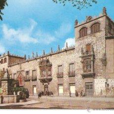 Postales: POSTALES POSTAL BURGOS AÑO 1962 PALACIO DE CONDESTABLE. Lote 44841525