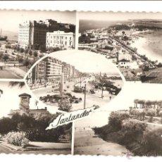 Postales: POPSTALES POSTAL SANTANDER CANTABRIA AÑOS 50 EDITA DANIEL ARBONES. Lote 45405241