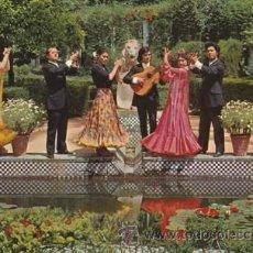 Postales: ESPAÑA TIPICA - ESTAMPA TIPICA - FOLKLORE - BAILE FLAMENCO ANDALUCIA - Nº 1887 -ED.SAVIR - AÑO 1971 . Lote 45712754