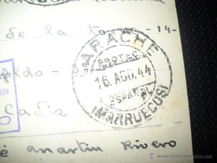 Postales: POSTAL LARACHE IGLESIA NUESTRA SEÑORA DEL PILAR PROTECTORADO ESPAÑOL.CIRCULADA. - Foto 5 - 46602166