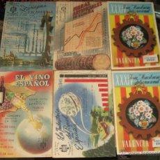 Postales: LOTE DE 6 POSTALES (UNA REPETIDA) CIRCULADAS CON SELLO AÑOS 50. Lote 47205407