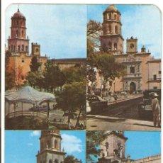 Postales: POSTALES POSTAL QUERETANO MEXICO CIRCULADA SELLOS. Lote 48723541