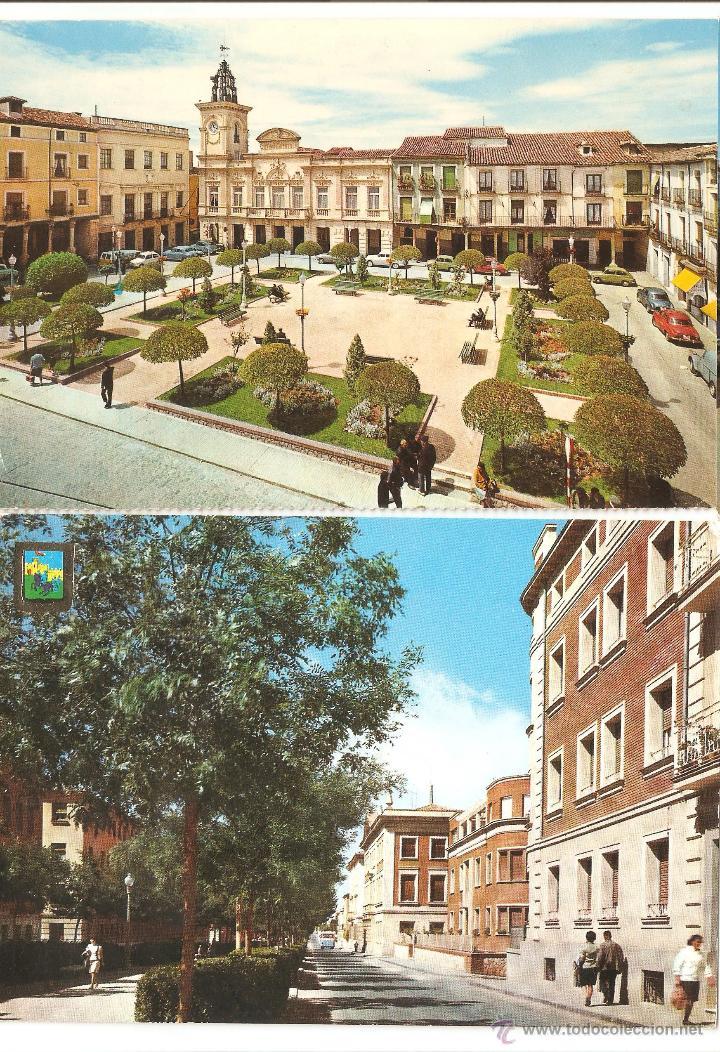 LOTE POSTALES GUADALAJARA AÑOS 60 SIN CIRCULAR (Postales - España - Sin Clasificar Moderna (desde 1.940))