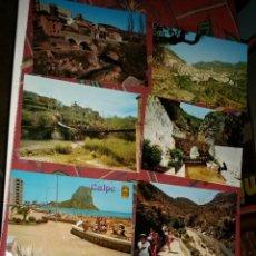Postales: LOTE 9 POSTALES PUEBLOS COMUNIDAD VALENCIANA AÑOS 80. Lote 50542229