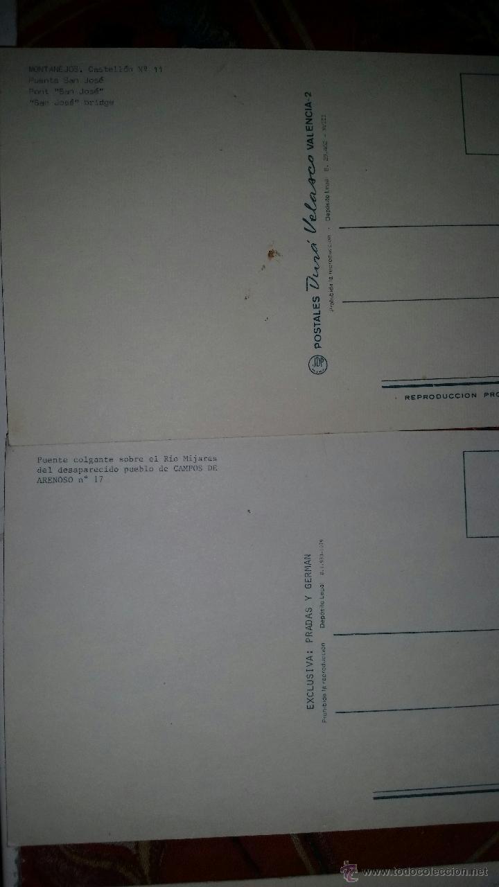 Postales: LOTE 9 POSTALES PUEBLOS COMUNIDAD VALENCIANA AÑOS 80 - Foto 2 - 50542229