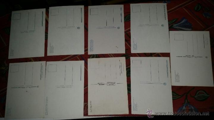 Postales: LOTE 9 POSTALES PUEBLOS COMUNIDAD VALENCIANA AÑOS 80 - Foto 3 - 50542229