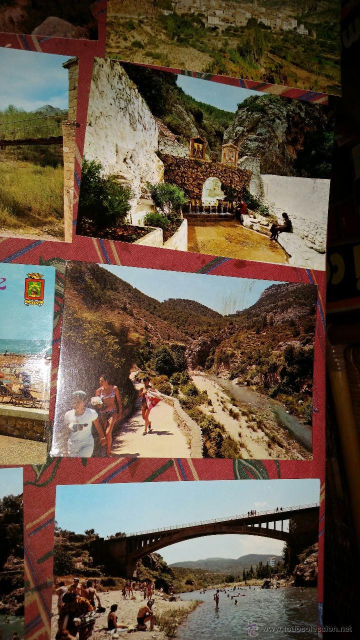 Postales: LOTE 9 POSTALES PUEBLOS COMUNIDAD VALENCIANA AÑOS 80 - Foto 4 - 50542229