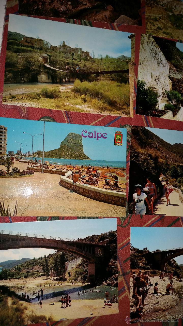 Postales: LOTE 9 POSTALES PUEBLOS COMUNIDAD VALENCIANA AÑOS 80 - Foto 5 - 50542229