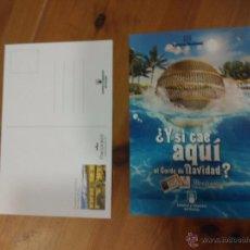 Postales: POSTAL LOTERIA Y APUESTAS DEL ESTADO - PARADORES- PARADOR DE SANTIAGO DE COMPOSTELA. Lote 210638720