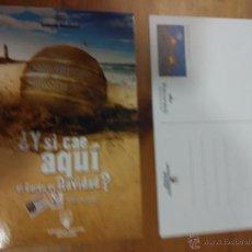 Postales: POSTAL LOTERIA Y APUESTAS DEL ESTADO - PARADORES- PARADOR DE CARDONA. Lote 210638732