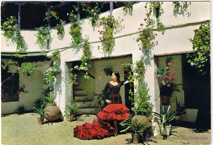 Espana Tipica Patio Andaluz Buy Other Postcards From Spain At