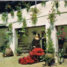 Postales: ESPAÑA TIPICA - PATIO ANDALUZ . Lote 51503836