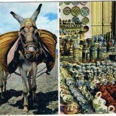 Cartes Postales: ESPAÑA TIPICA - BURRITO Y CERAMICA. Lote 51503903