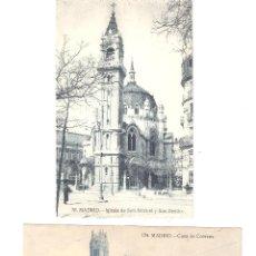 Postales: LOTE POSTALES MADRID AÑOS 1900-20 SIN CIRCULAR EDITA GRAFOS. Lote 51730725