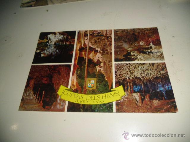 POSTAL DE CUEVAS DELS HAMS PORTO CRISTO (Postales - España - Sin Clasificar Moderna (desde 1.940))