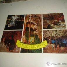 Postales: POSTAL DE CUEVAS DELS HAMS PORTO CRISTO. Lote 51785306