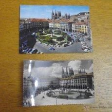 Postales: LOTE POSTALES ANTIGUAS BURGOS. Lote 53323742