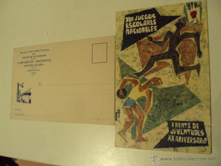 2 POSTALES DEL FRENTE DE JUVENTUDES (Postales - España - Sin Clasificar Moderna (desde 1.940))