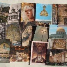 Postales: LOTE DE 16 ANTIGUAS TARJETAS POSTALES DE FACHADAS MONUMENTOS IGLESIAS VER DESCRIPCION. Lote 56542006