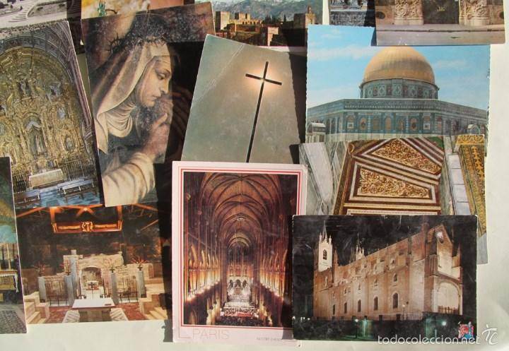 Postales: LOTE DE 16 ANTIGUAS TARJETAS POSTALES DE FACHADAS MONUMENTOS IGLESIAS VER DESCRIPCION - Foto 2 - 56542006