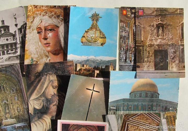 Postales: LOTE DE 16 ANTIGUAS TARJETAS POSTALES DE FACHADAS MONUMENTOS IGLESIAS VER DESCRIPCION - Foto 3 - 56542006
