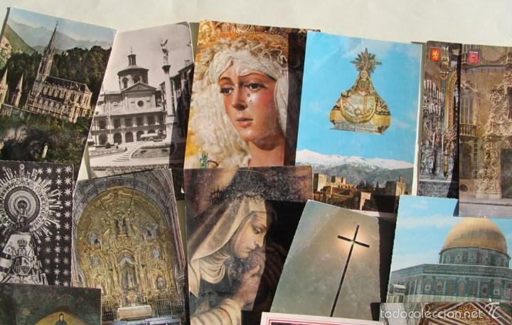 Postales: LOTE DE 16 ANTIGUAS TARJETAS POSTALES DE FACHADAS MONUMENTOS IGLESIAS VER DESCRIPCION - Foto 4 - 56542006