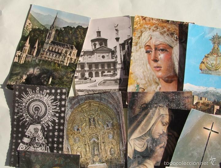 Postales: LOTE DE 16 ANTIGUAS TARJETAS POSTALES DE FACHADAS MONUMENTOS IGLESIAS VER DESCRIPCION - Foto 5 - 56542006