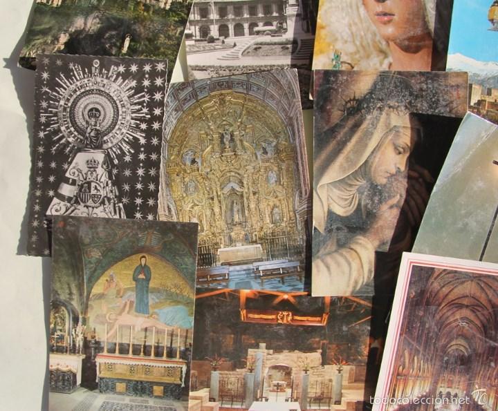 Postales: LOTE DE 16 ANTIGUAS TARJETAS POSTALES DE FACHADAS MONUMENTOS IGLESIAS VER DESCRIPCION - Foto 6 - 56542006