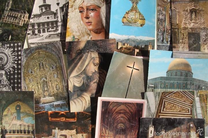 Postales: LOTE DE 16 ANTIGUAS TARJETAS POSTALES DE FACHADAS MONUMENTOS IGLESIAS VER DESCRIPCION - Foto 8 - 56542006
