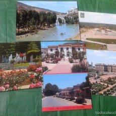Postales: CINCO POSTALES DIVERSOS LUGARES ESPAÑA AÑOS '70 SIN UTILIZAR. Lote 57806297